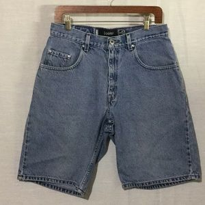 Vintage Levi's Silver Tab Light Wash Denim Shorts